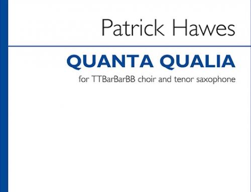 Quanta Qualia – new arrangement